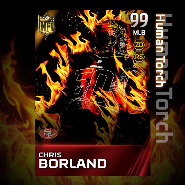 Chris borland human torch