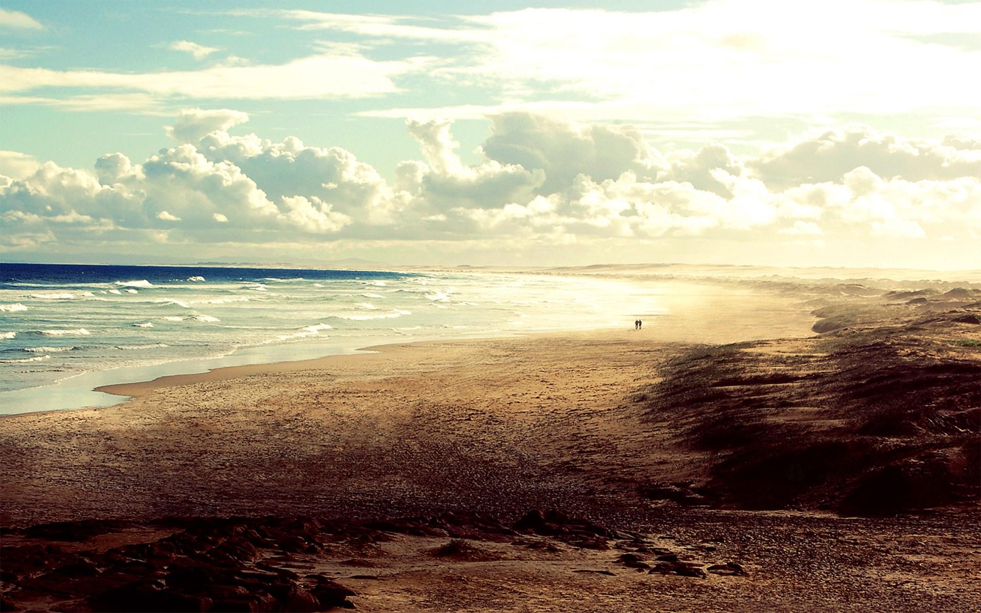 песок пляж лужи небо корабли скачать