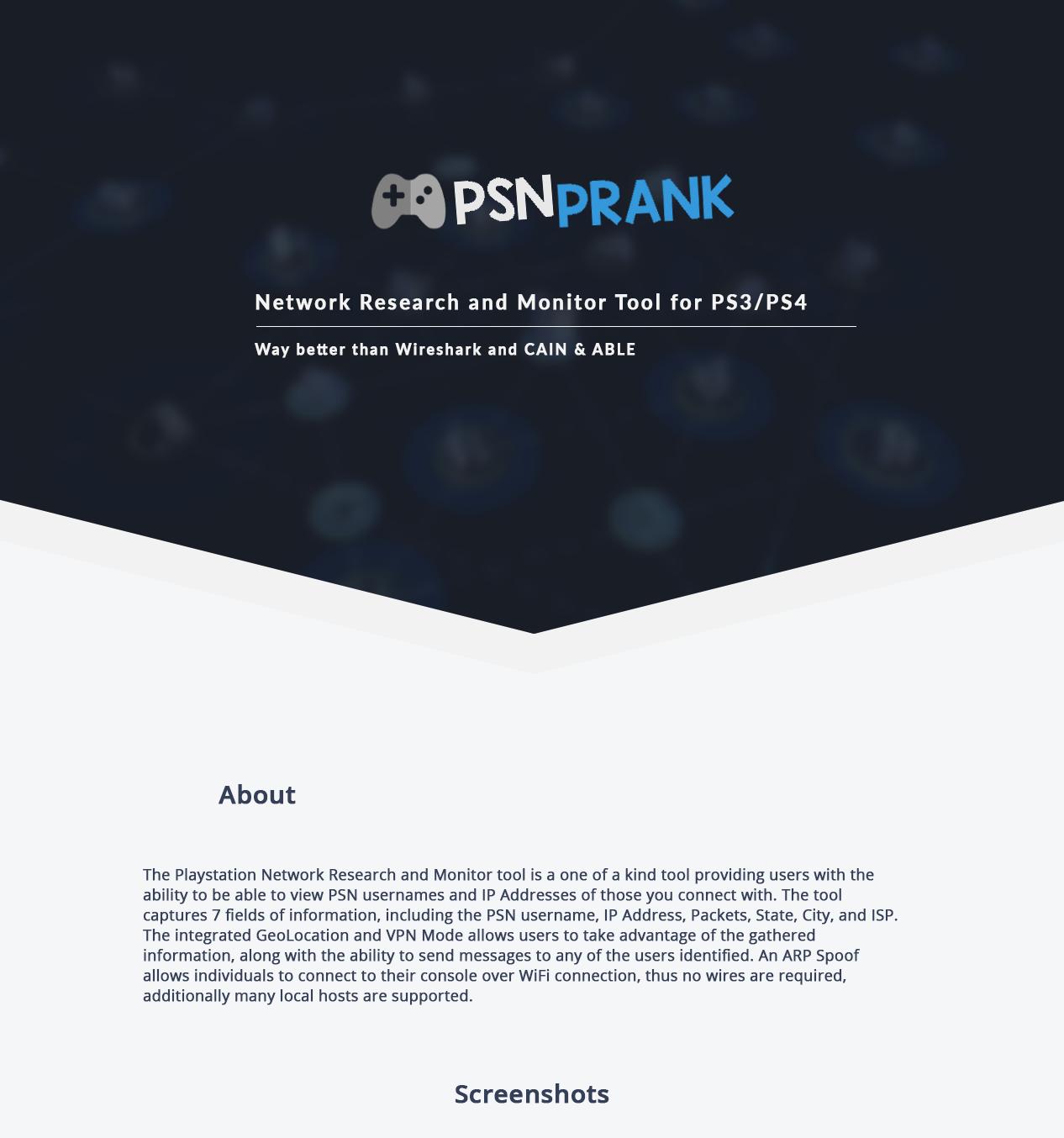 PS3/PS4] PSN Username/IP Grabber - NO JAILBREAK NEEDED - Page 10