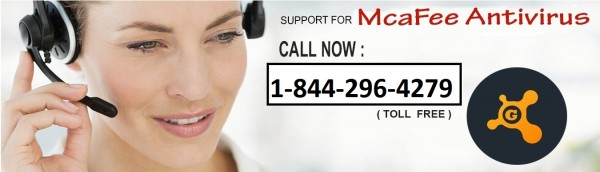 SUPPORT FOR MCAFEE ANTIVIRUS