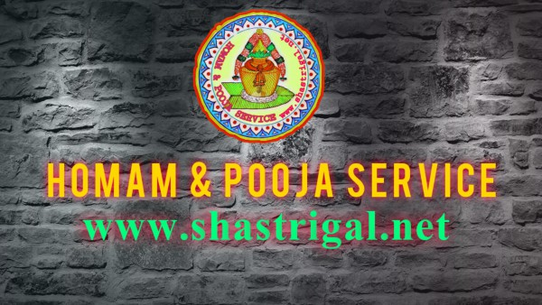 Shastrigal.net is the world's No.1 and most trusted online Hindu Pooja & homam service providers, located in Chennai.  Website: http://www.shastrigal.net/